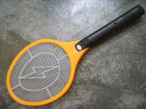 Ok, this is the WEAPON to kill mosquitoes! I hate them!