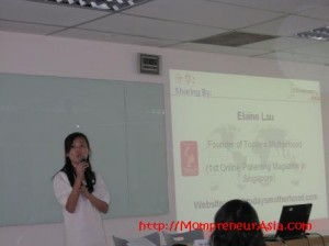 Guest sharing by Elaine Lau