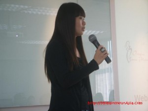 Guest sharing by Rebecca Chan