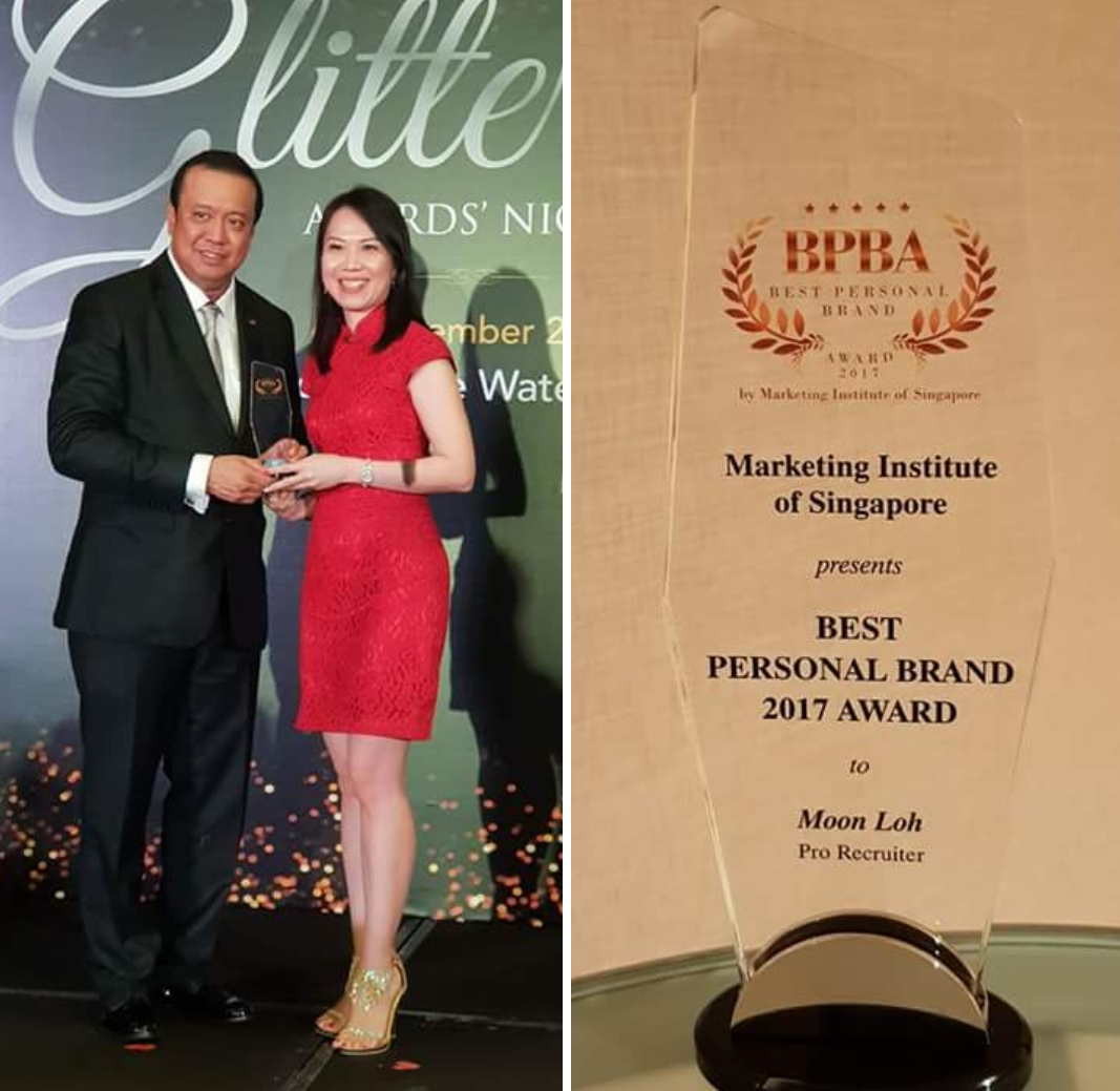 Moon Loh - Best Personal Brand Award